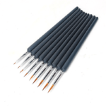 9 pcs High Quality Painting Brushes Detail Set - Just Paint by Number