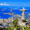 Paint by Numbers Kit Landscape Brazil - Just Paint by Number