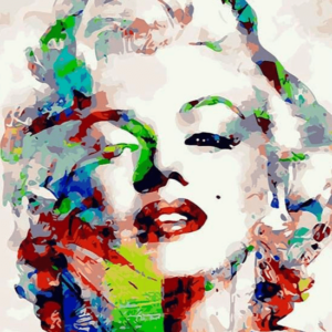 Paint By Numbers Kit Marilyn Monroe - Just Paint by Number