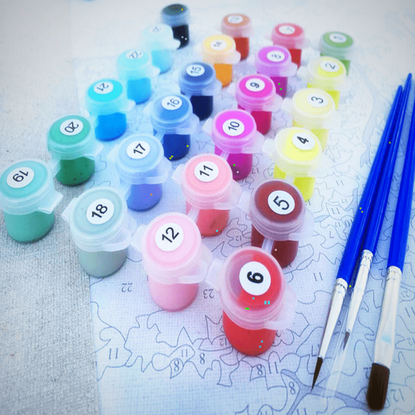 Paint By Numbers Kit Scenery - Just Paint by Number