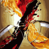 Paint by Numbers Kit Abstract Wine - Just Paint by Number