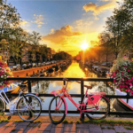 Paint by Numbers Kit Amsterdam - Just Paint by Number