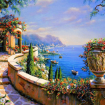 Paint By Numbers Kit Landscape Colorful - Just Paint by Number