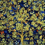 Paint By Numbers Kit Tree of Life By William Morris - Just Paint by Number
