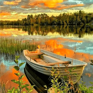 Paint by Numbers Kit Landscape Scenery - Just Paint by Number